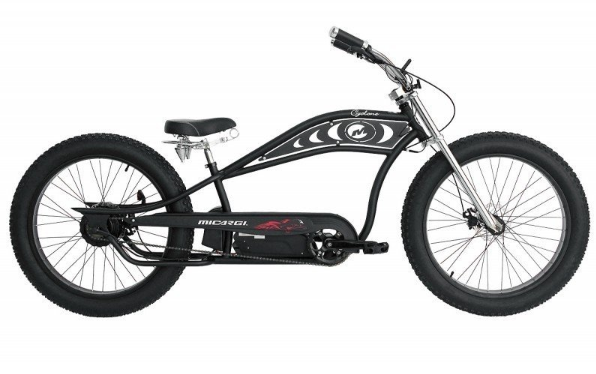 Electric Fat Tire Beach Cruiser