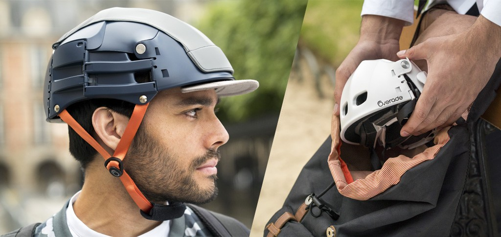foldable helmets by Overade